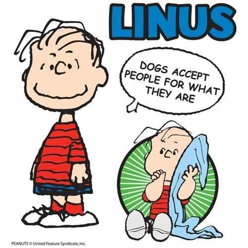 Linus Van Pelt Quotes: Linus And His Blanket.