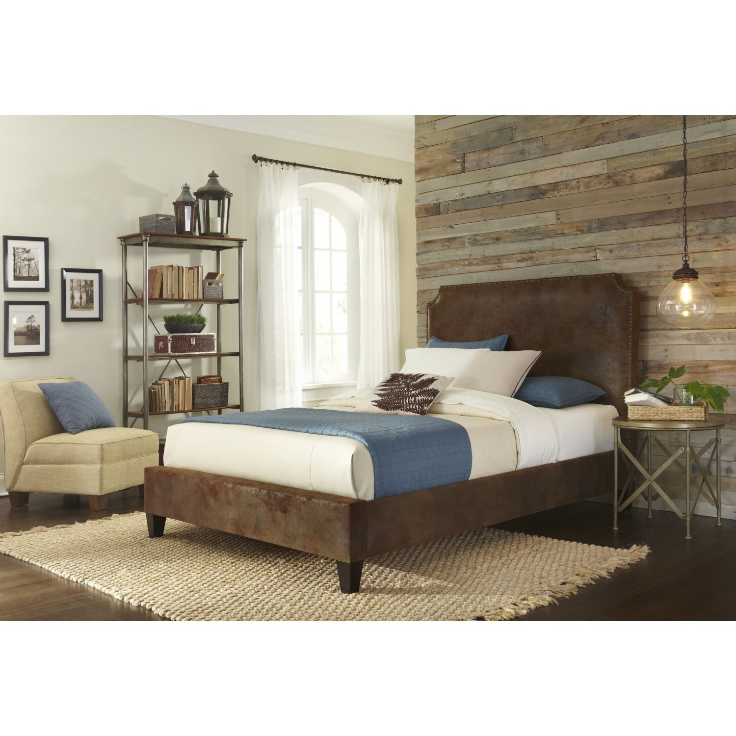 Master bedroom king size bed designs  The Canterbury king size bed features an attractive tobacco colored