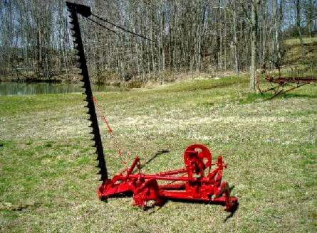 IH 2-Point Fast-Hitch Sickle Mower   Red Iron   Farmall