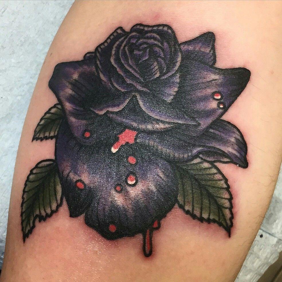 Pin by Nedo on TATTOOIDEAS Black rose tattoos, Thin