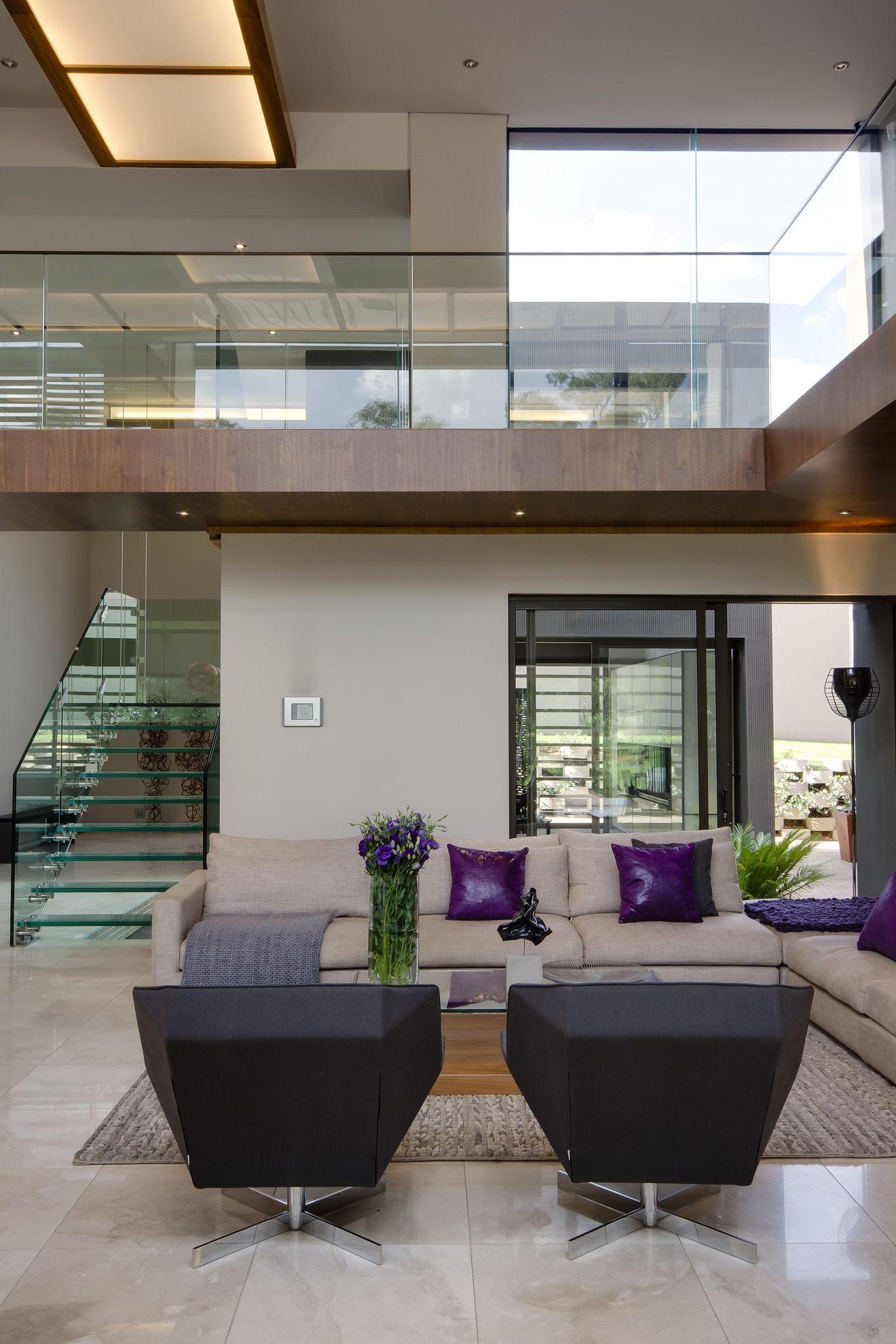nice modern living room design | What a nice, modern living room. | Deloufleur Decor ...