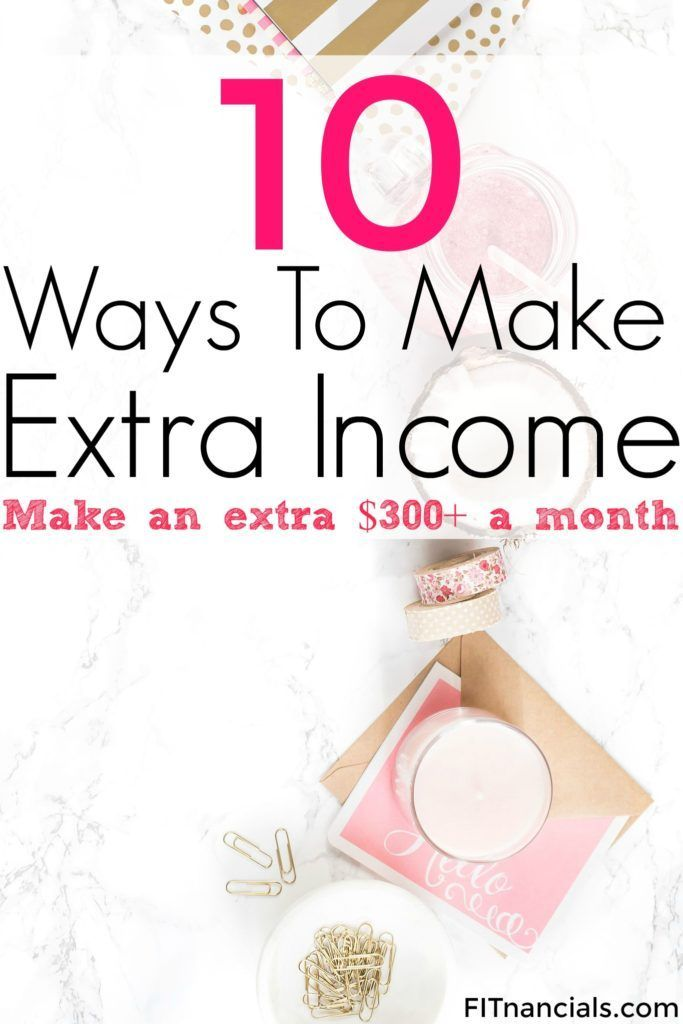 Check out these 10 ways to make fast and easy money. This is such a great list!