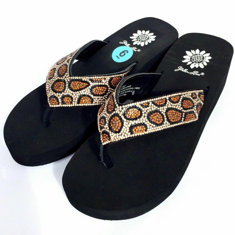 Flip flop sandals, Bling flip flops