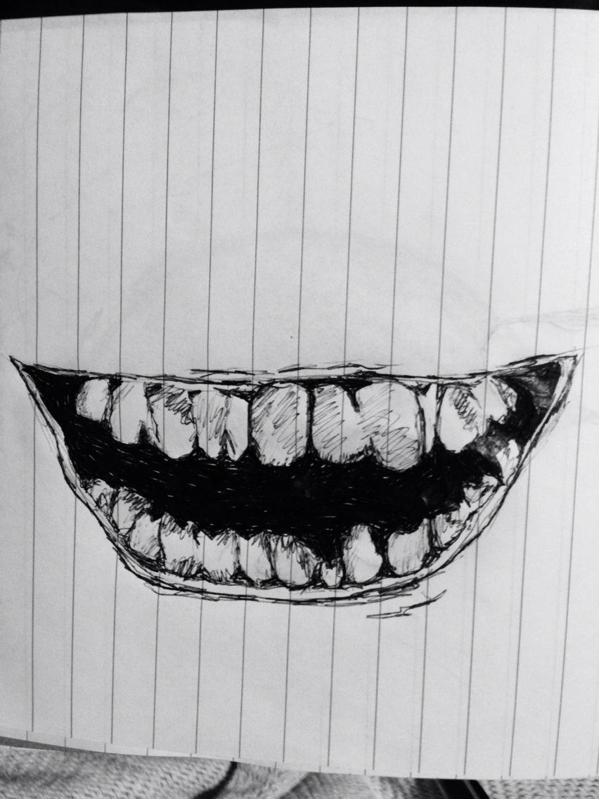 Inspiration: the joker.
