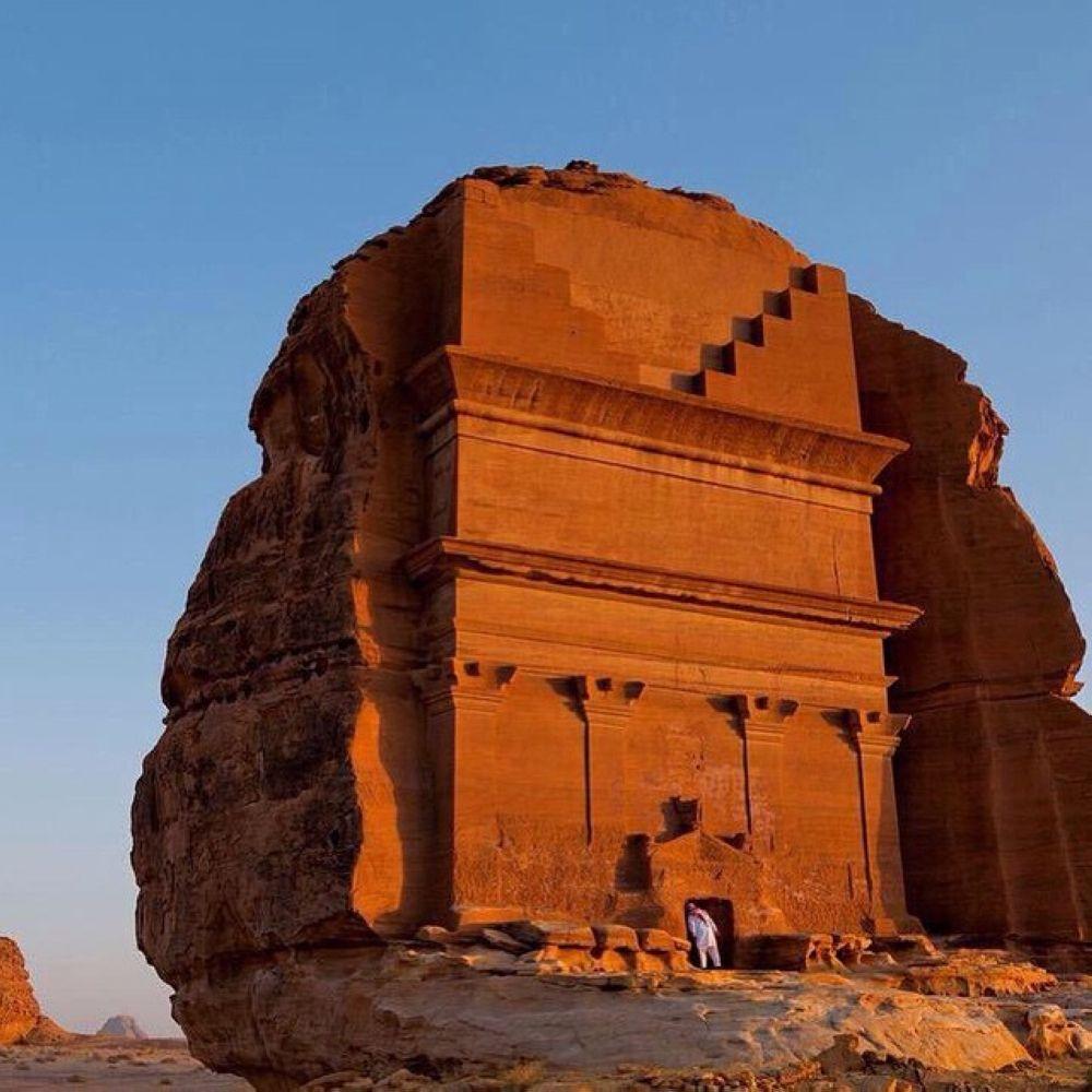 المعلم الأثري مدينة الحجر مدائن صالح بالسعودية Ancient Times Archaeological Site Ancient