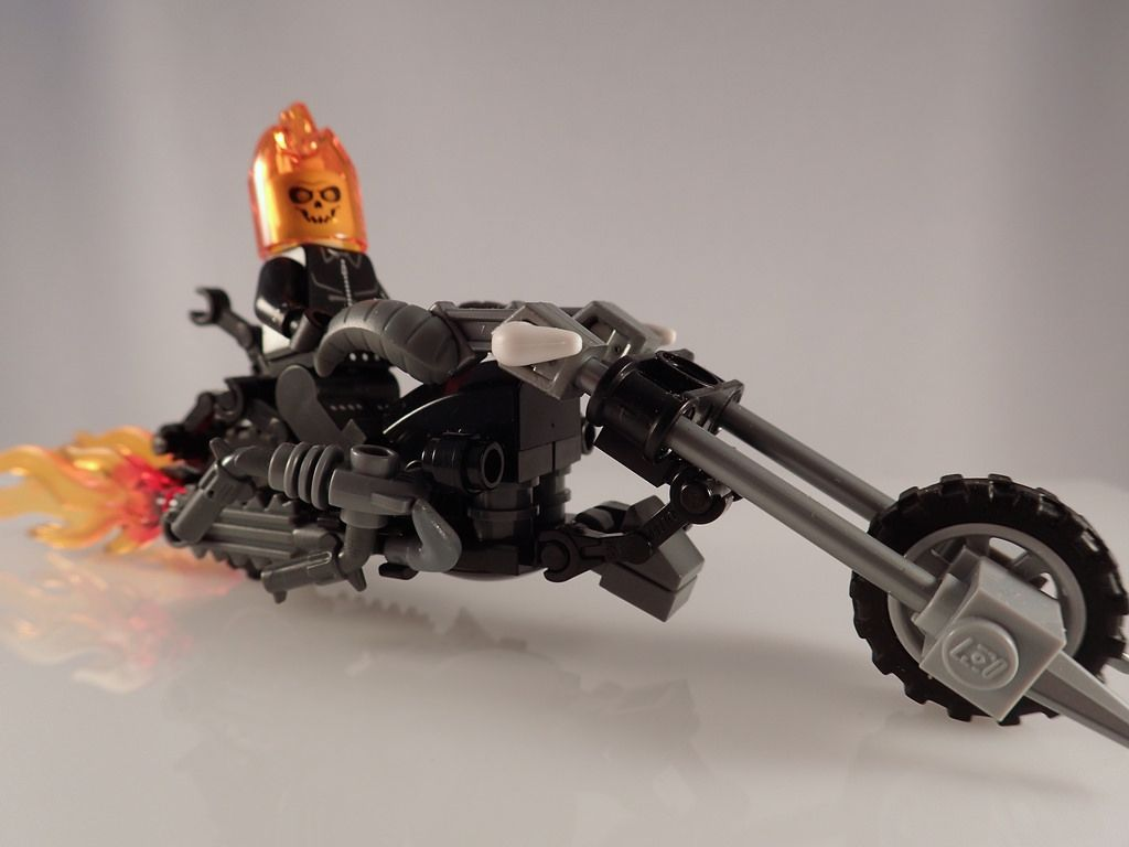 11 photo of 22 for lego ghost rider motorcycle ... - photo#5