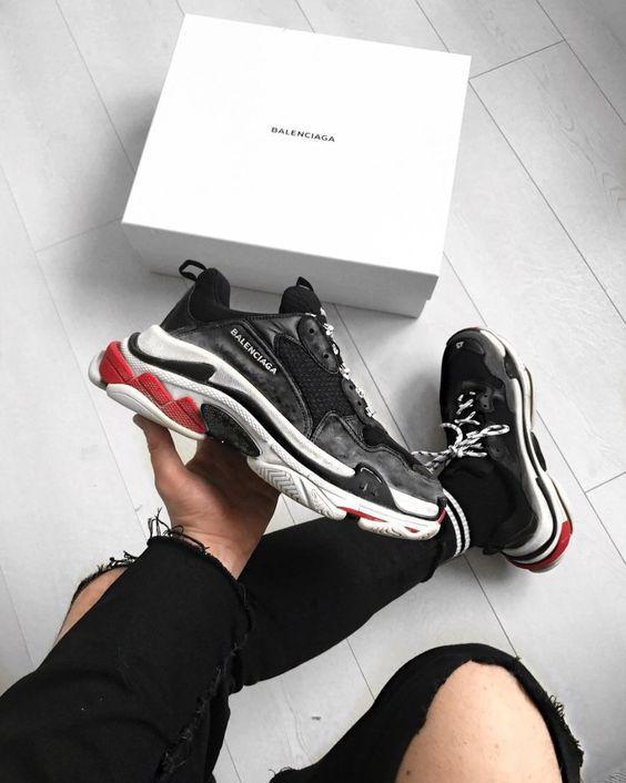 TÊNIS CHUNKY MASCULINO, pra inspirar! is part of Balenciaga shoes mens - Macho Moda Blog de Moda Masculina  Dicas de Estilo Masculino, Tendências, Produtos para Homens, Serviços e tudo relacionado a esse Universo