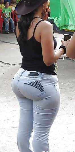 Big ass in tight