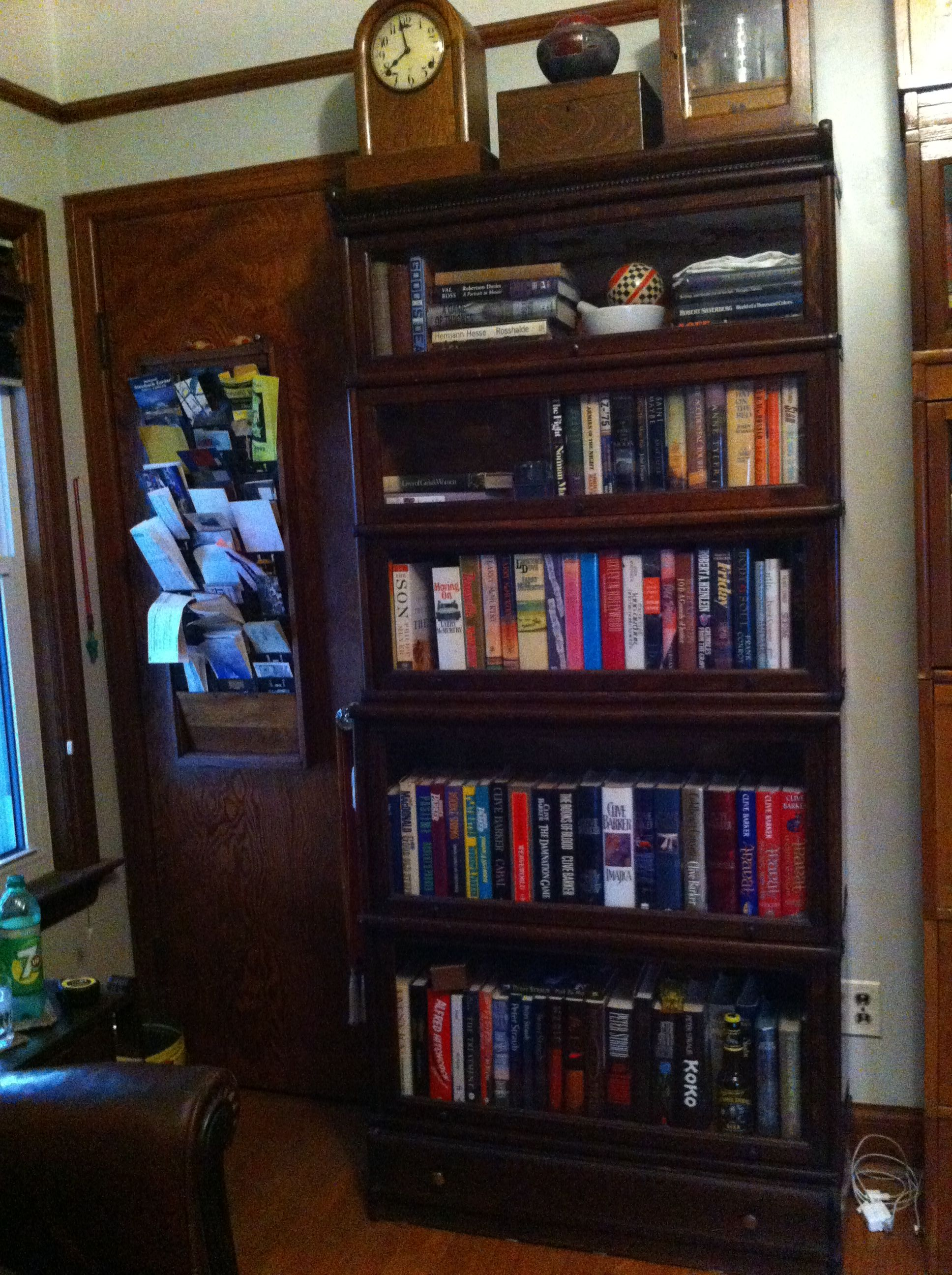 New Barrister's Bookcase for the study!