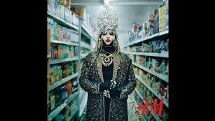 Daniel Lismore as part of H&M's Close The Loop campaign (Courtesy H&M)