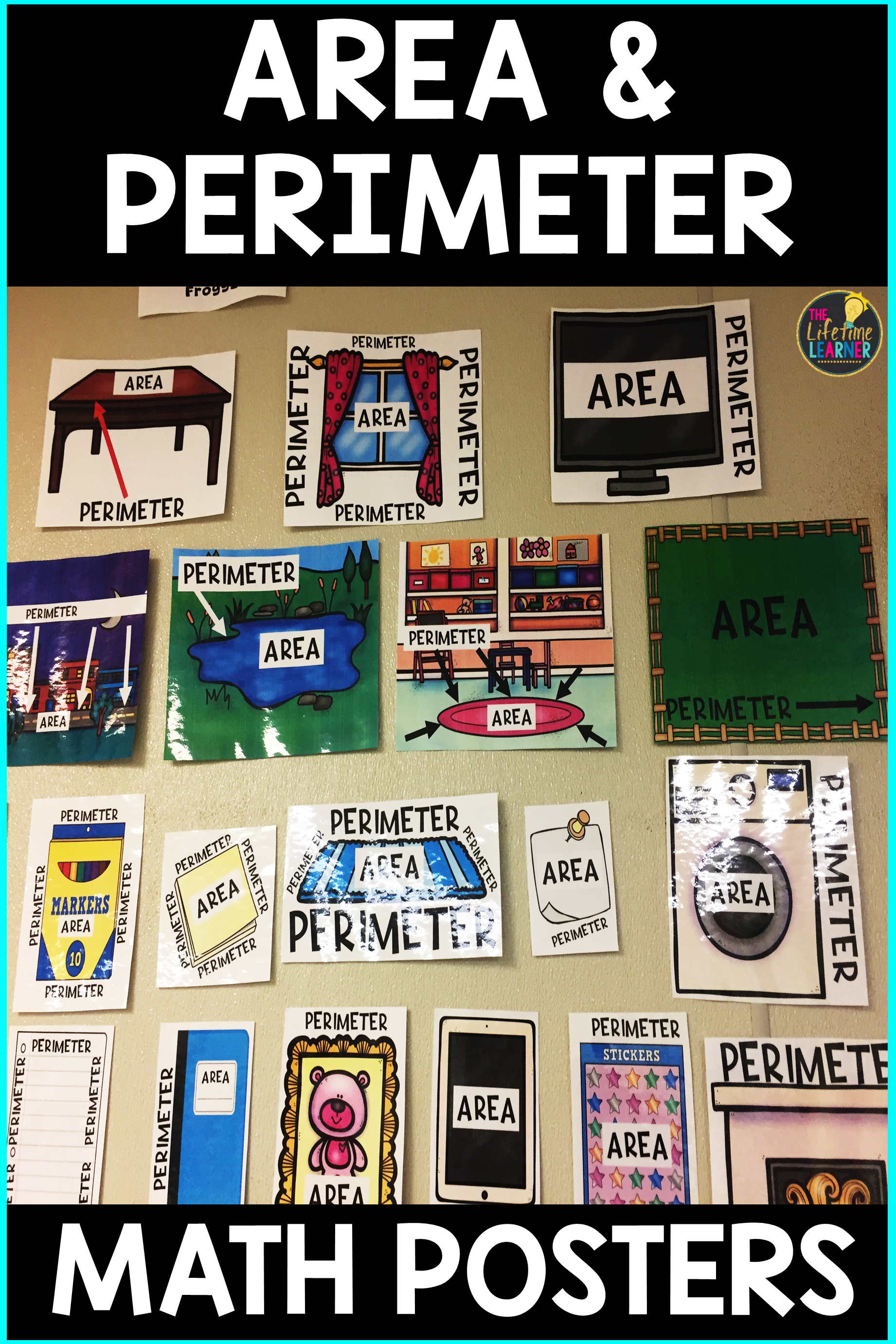 Area And Perimeter Posters