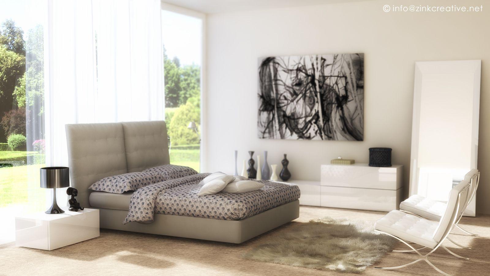 Bedroom, credits: Zink Creative Studio