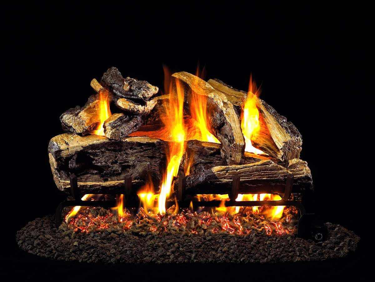 how to start a gas fireplace without power