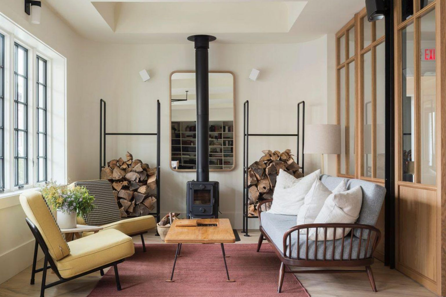 10 Hip Hotels in Upstate NY Home, Modern rustic decor