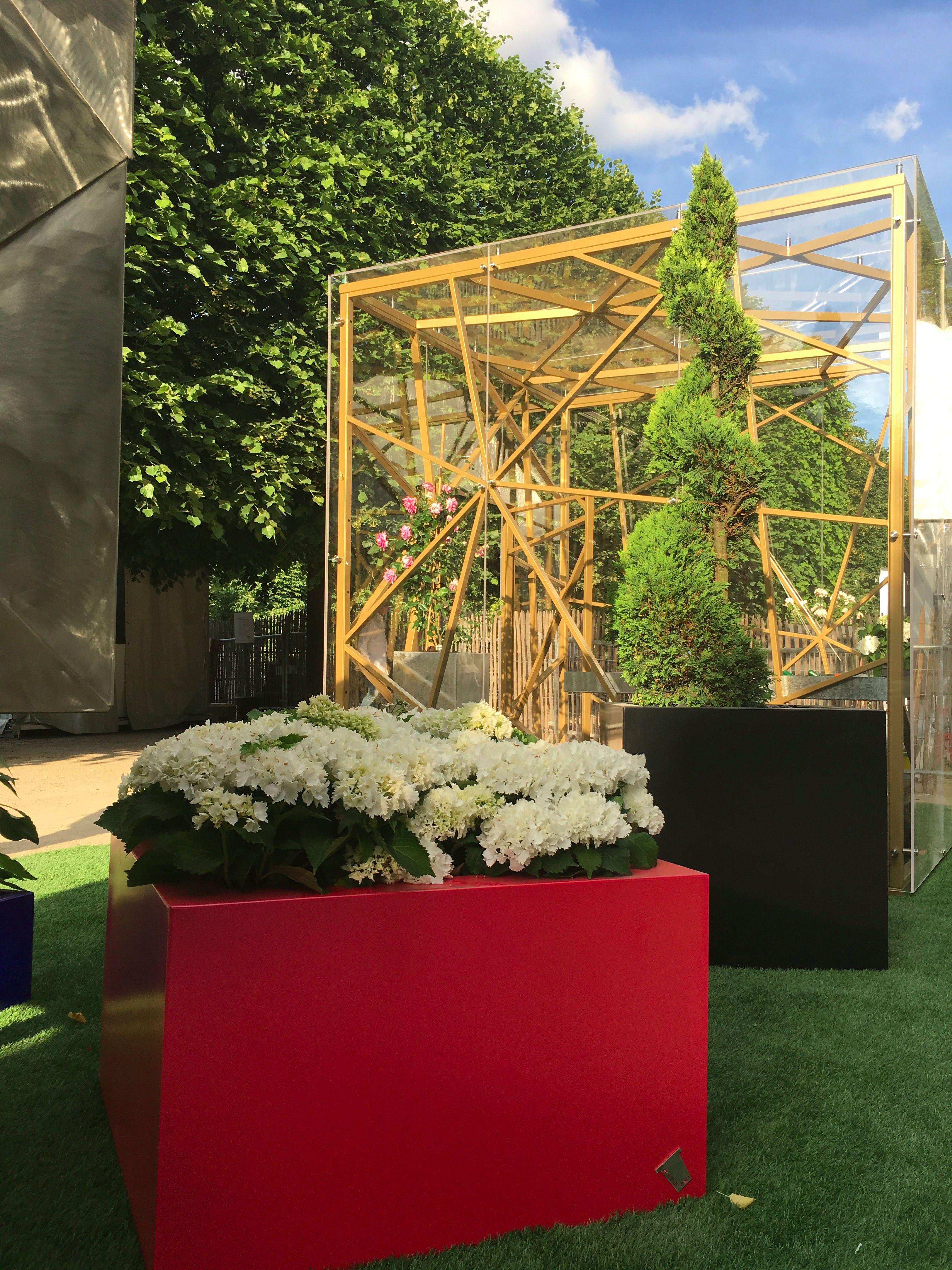 Serre contemporaine mes cr ations pinterest contemporain serre et guillaume - Verriere jardin d hiver ...