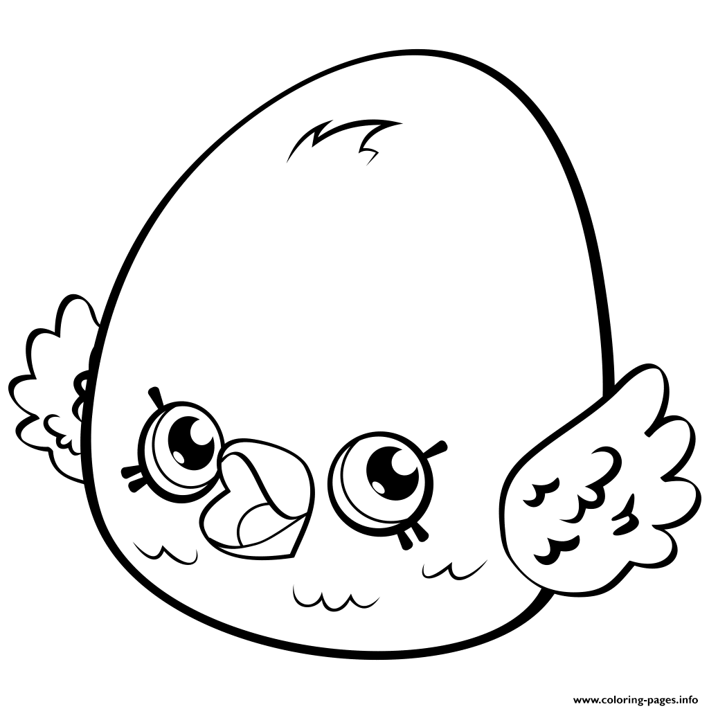 Print cute egg eggchic shopkins season 4 coloring pages
