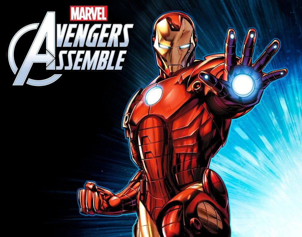 Artstation Avengers Assemble Iron Man Jeremy Roberts With