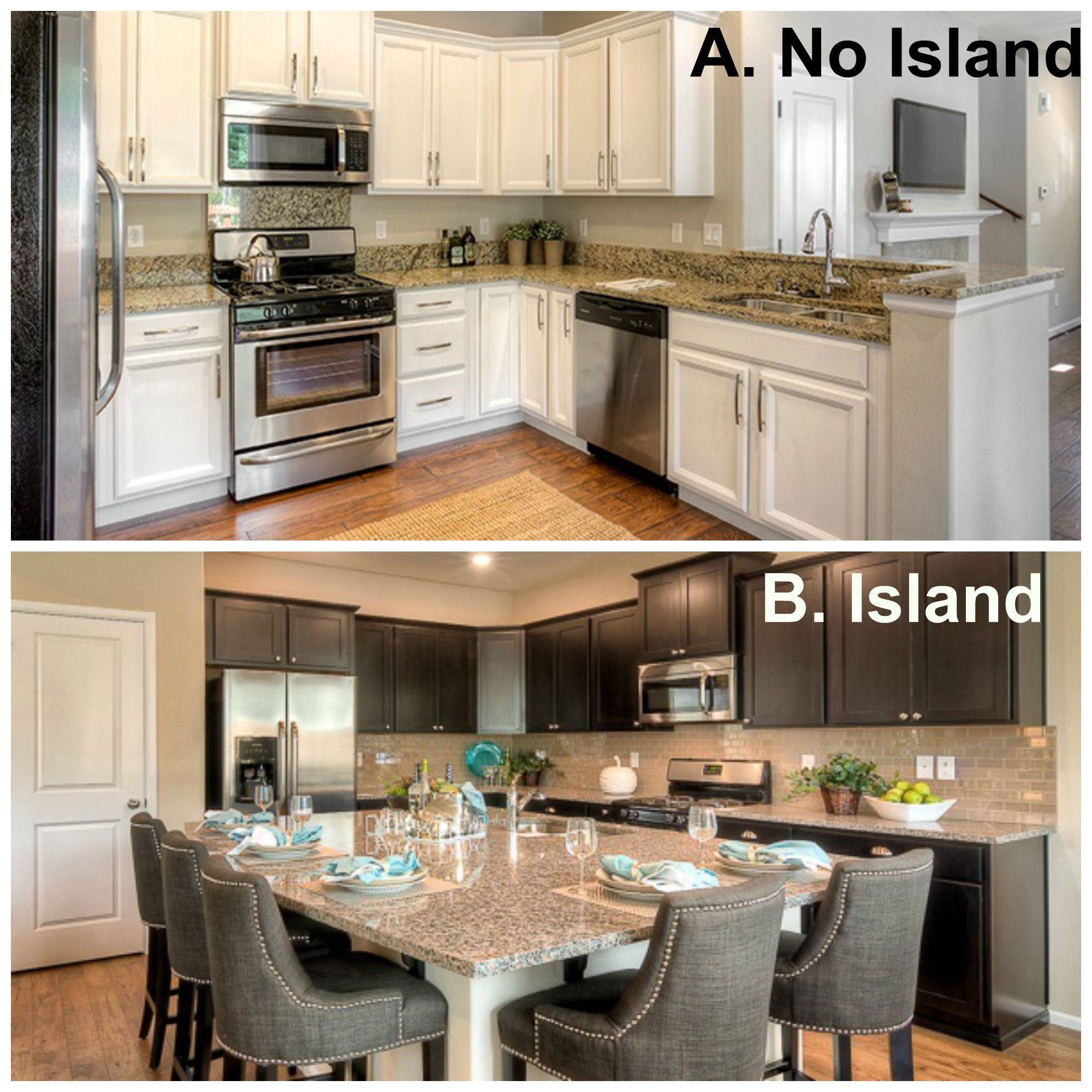 Island or NO Island.... that is the question! lennar