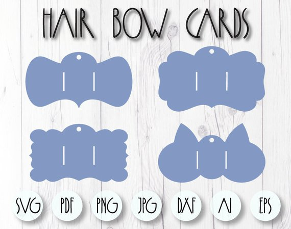 Bow Holder Template Bow Holder Svg Hair Bow Card Cricut Etsy Bow Display Hair Bow Display Hair Bows