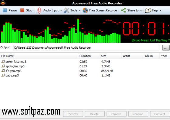 Download WAV Recording Applet SDK PRO windows version. You can get it from Softpaz - https://www.softpaz.com/software/download-wav-recording-applet-sdk-pro-windows-116284.htm for free. High speed servers! No waiting time! No surveys! The best windows software download portal!