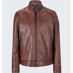 Photo of Univers leather jacket, light brown StrellsonStrellson