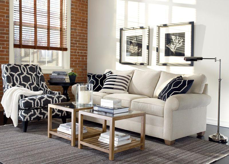 Bennett Roll-Arm Sofa, Quick Ship Small Living Room Decor