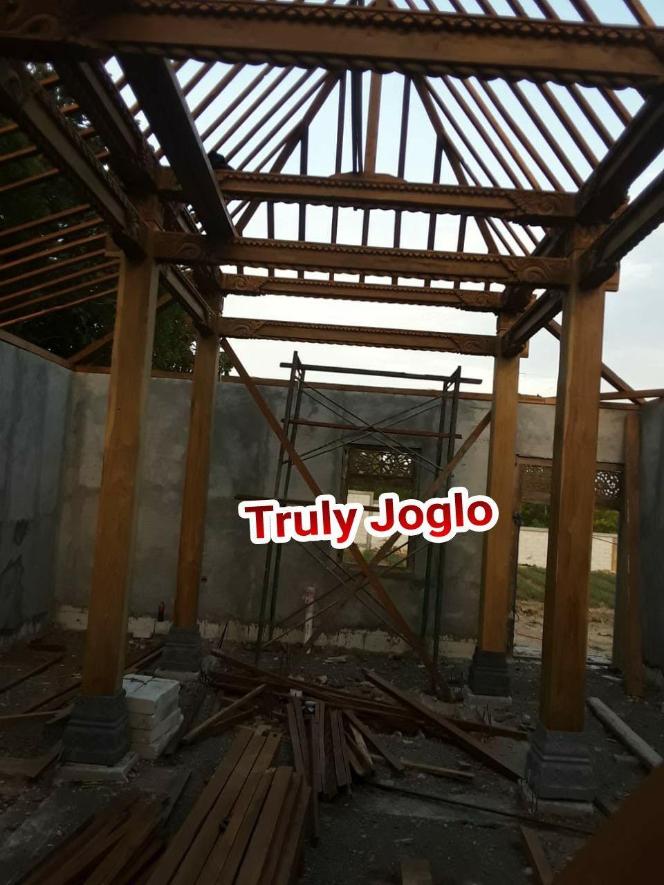Konstruksi Rangka Rumah Limasan Jawa Ukir Outdoor Structures Pergola Outdoor