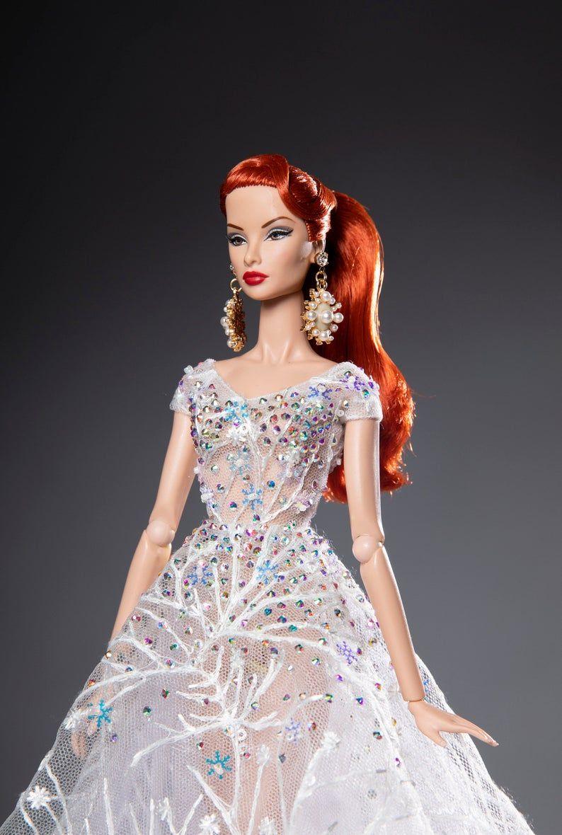 "Handmade~Doll tops for 12/"" Doll~Barbie,Fashion royalty,Silkstone #202012056"