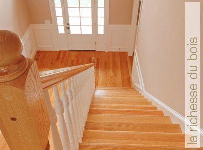 rampe d 39 escalier int rieur en bois recherche google. Black Bedroom Furniture Sets. Home Design Ideas
