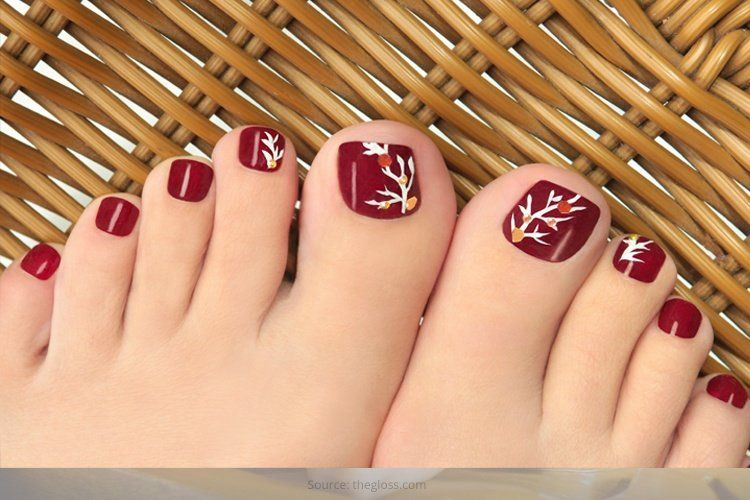 35 Easy Toe Nail Designs That Are Totally Worth Your Time | Easy ...