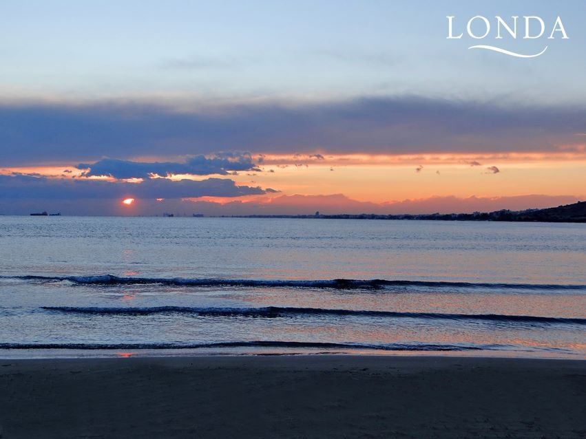 Who would like to watch a beautiful sunset like this live? #Limassol #Cyprus.
