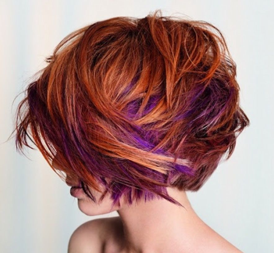 Love the cut & movement of hair. Like the colour placement butNOT THESE COLOURS