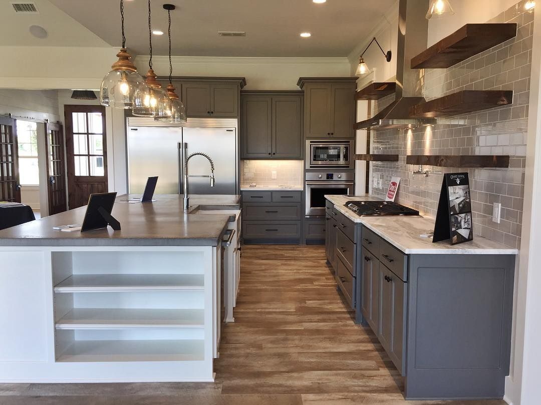 Modern Farmhouse Builder Brandon Pahler Combines The Old With The New To Pay Homage To Yesteryear Craftsmanship Home Decor Kitchen Kitchen Decor