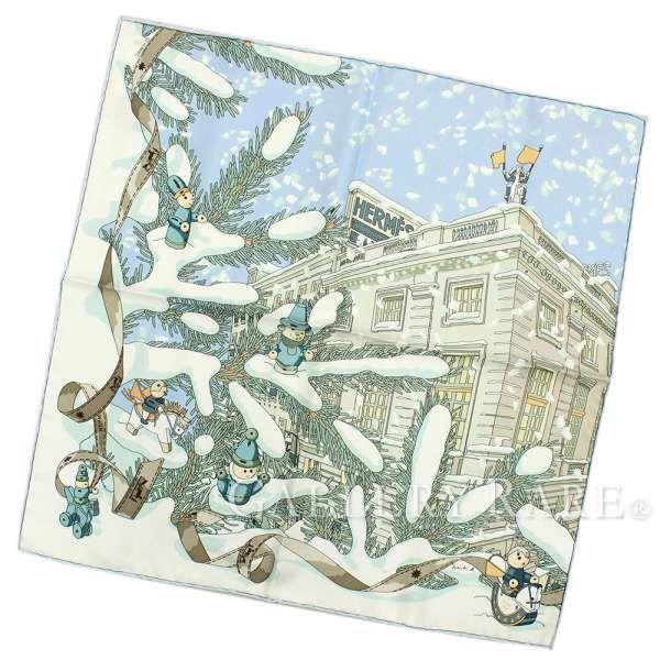 sports shoes 2ca81 e6d1b エルメス スカーフ カレ45 フォーブル24番地のクリスマス Noel ...