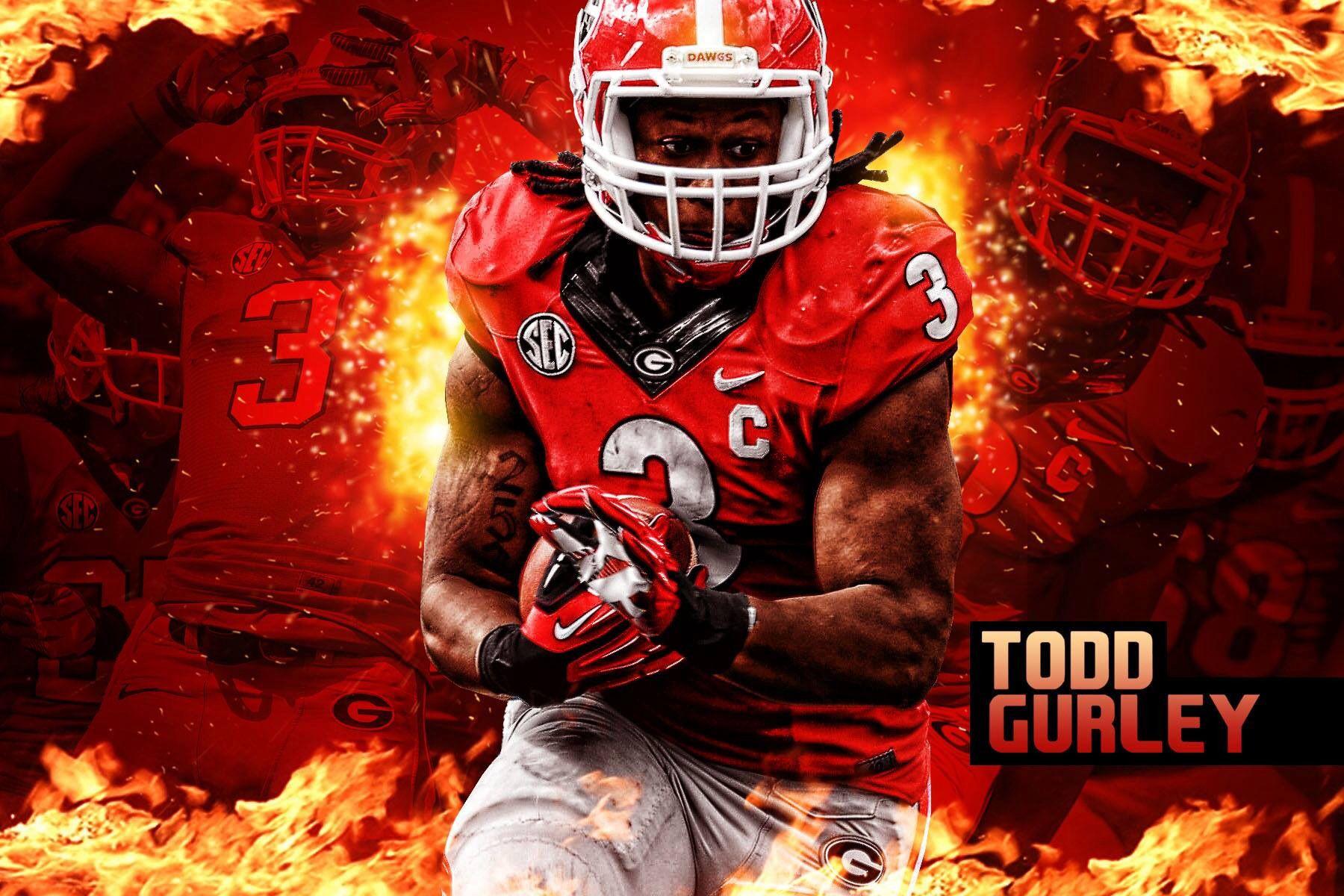 Todd Gurley Georgia Dawgs Todd Gurley Georgia Bulldogs