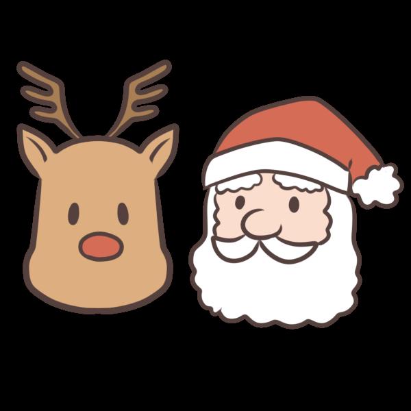 無料イラスト 春夏秋冬 50 サンタ トナカイ イラスト クリスマス イラスト かわいい サンタクロース イラスト クリスマス フレーム