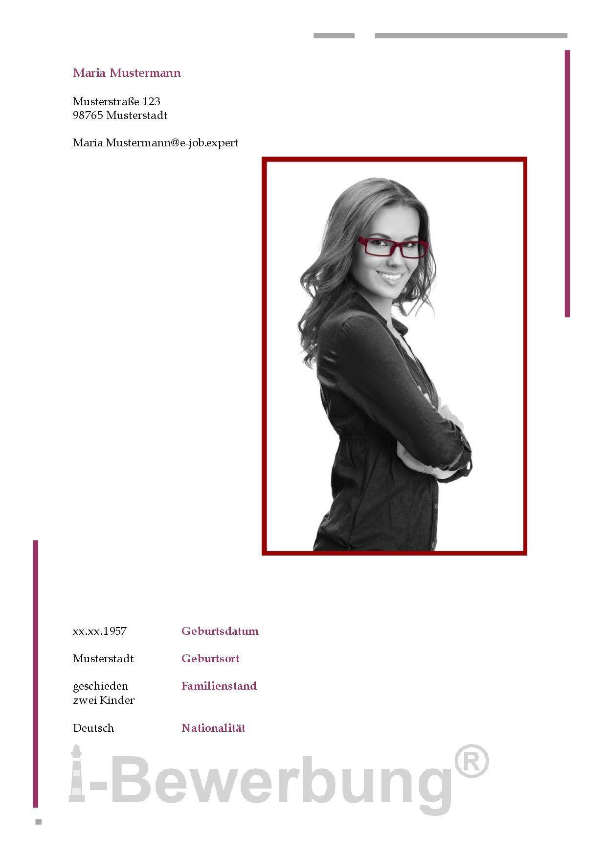 Muster Des Deckblatt Zur Initiativbewerbung Als Sekretärin