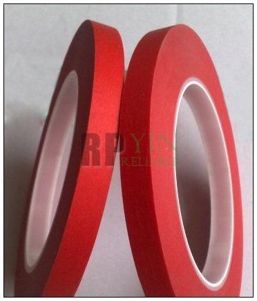1x 50mm*33M *0.25mm Adhesive RED Shielding Tape for PCB Sodlering Wave /Static /Automobile Coating Masking
