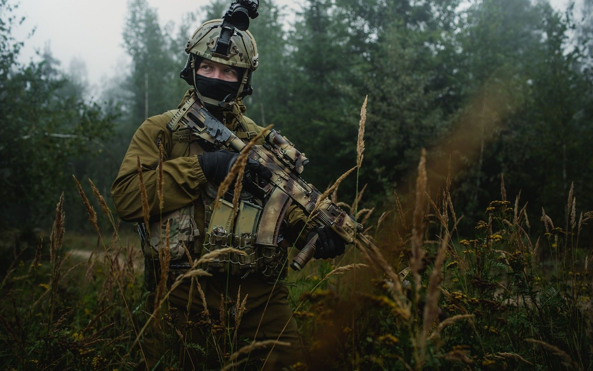 Military Soldier Russian Spetsnaz Wallpaper | NCLY WPN