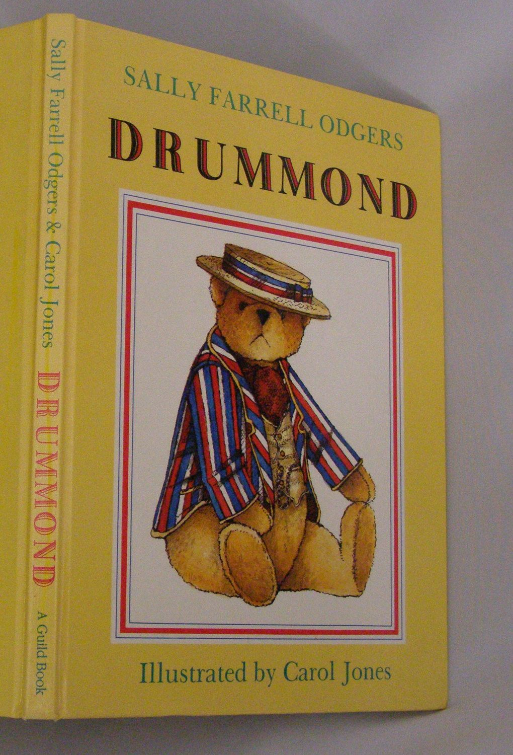 Early Edition~ Drummond by Sally Farrell Odgers 1990 Teddy Bear Illustrated by Carol Jones by parkie2 on Etsy