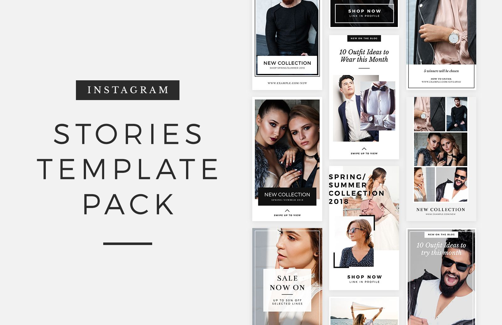 Medialoot Free Instagram Stories Template Pack Instagram Story Template Instagram Template Story Template