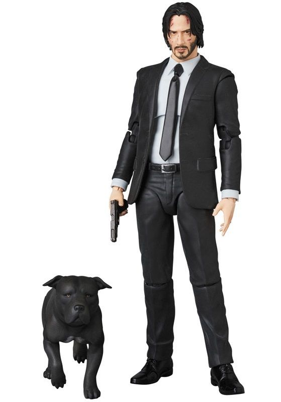 US SELLER MAFEX No.70 John Wick Action Figure MEDICOM TOY Brand NEW In Stock