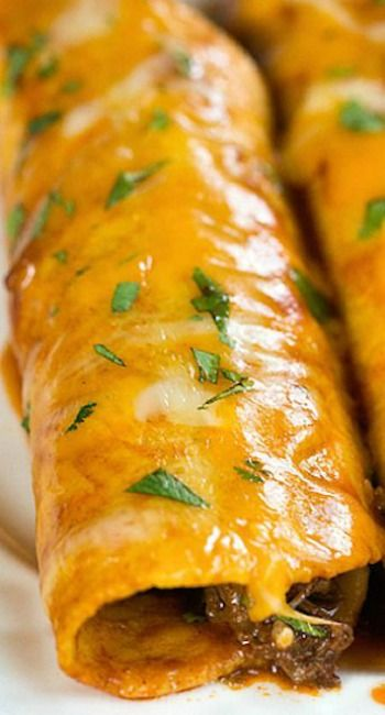 The Best Authentic Beef Enchiladas Recipe Mexican Food