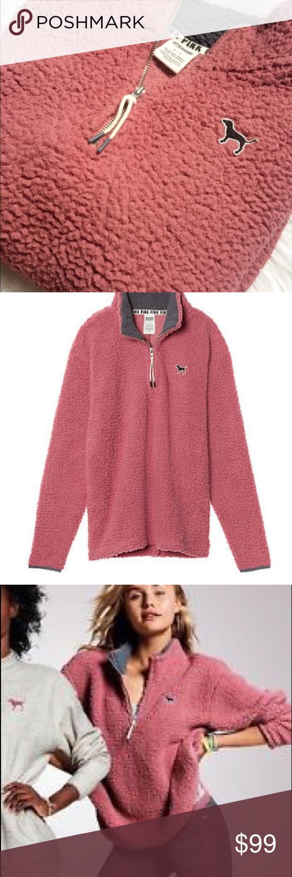 pink fluffy jacket victoria secret