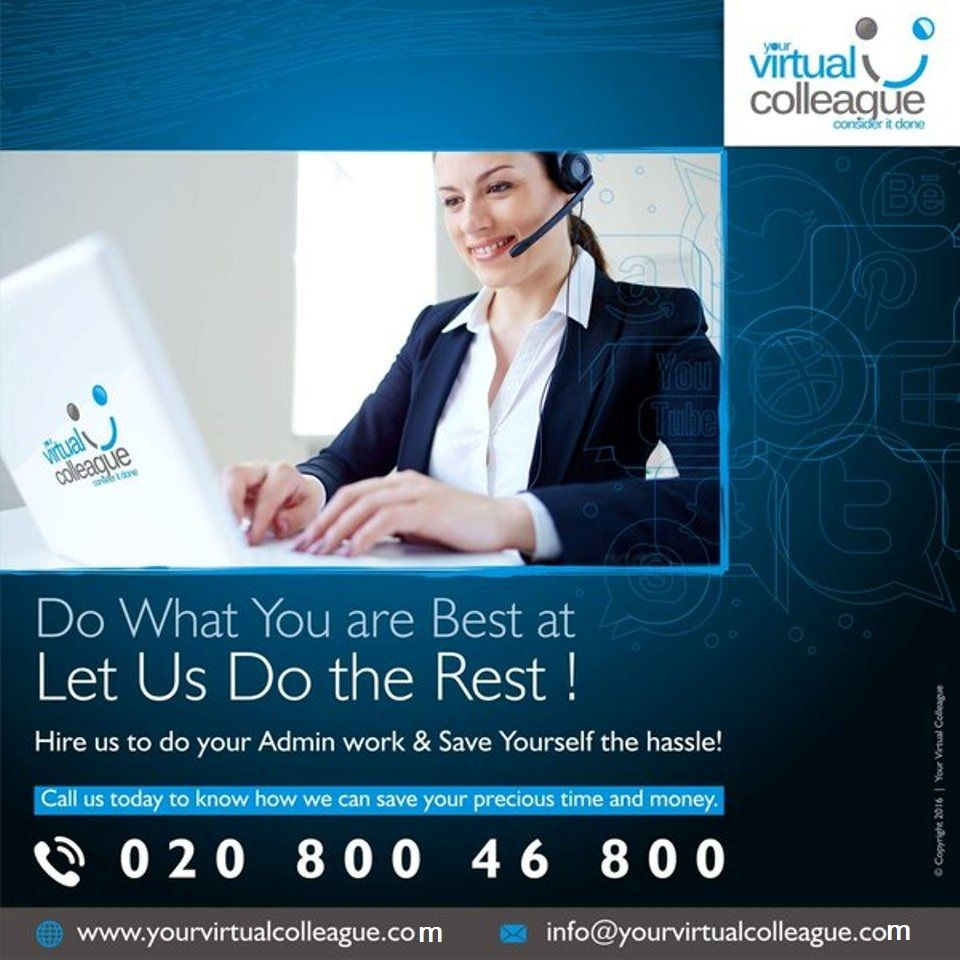 Hire Us To Your Admin Work Save Yourself The Hassle Call Us