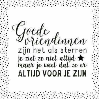 3 Vriendinnen Spreuk Citaat Nederlands Teksten