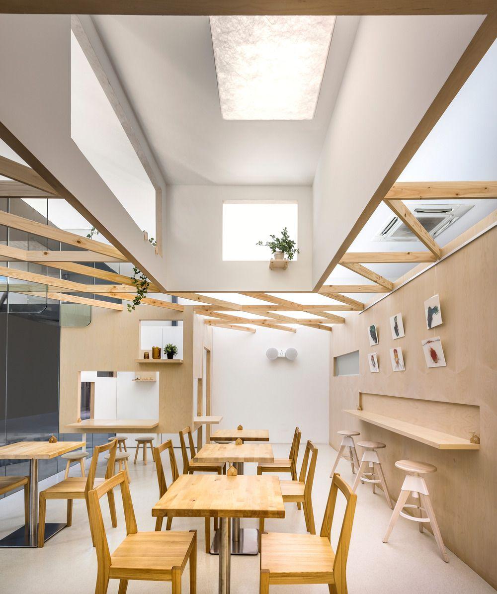 Creative Design Visually Unites Two Distinct Shops Diseno De