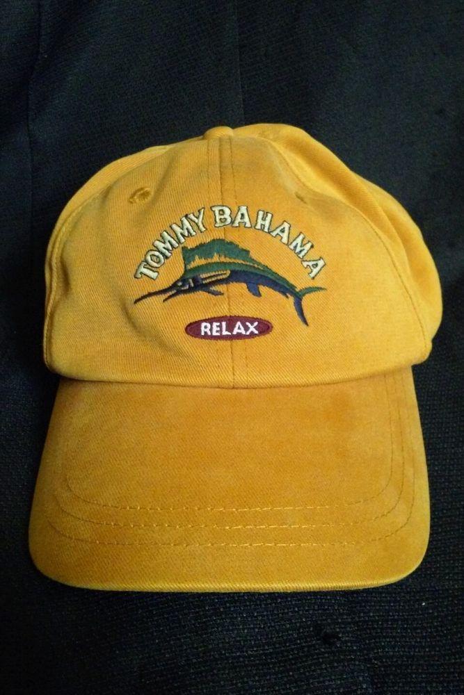 tommy bahama relax baseball cap marlin peach golf adjustable hat baseballcap