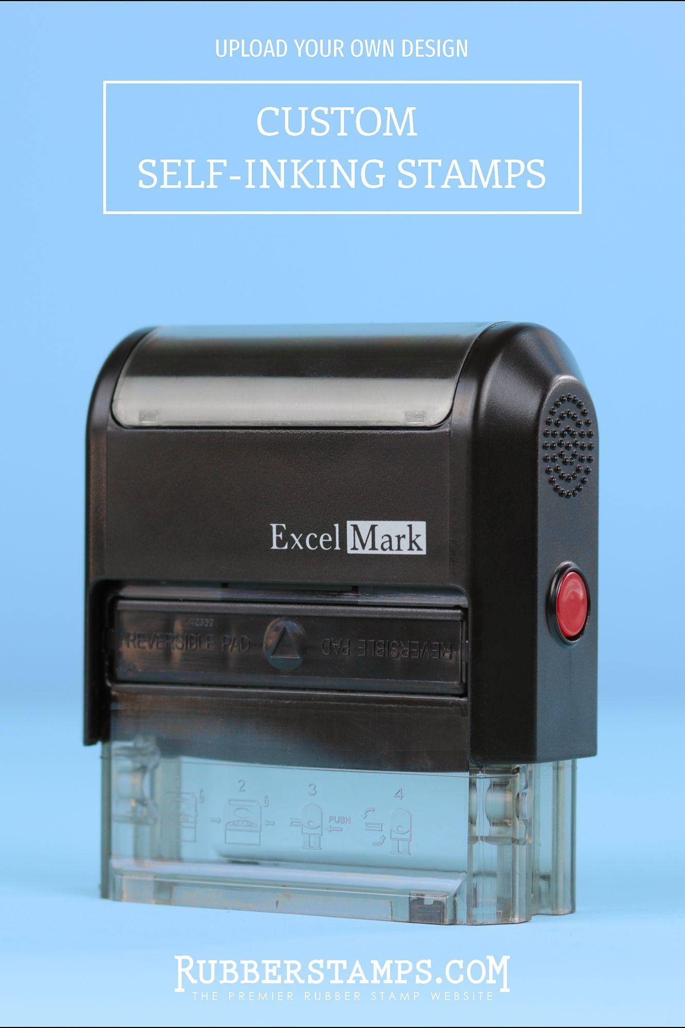 custom self inking stamps