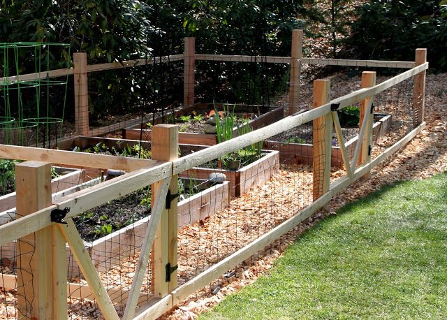 Small Garden Fencing: Fenci.g For Small Animals On Small Acreage